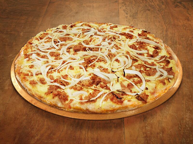 Pizza de Atum com Cebola
