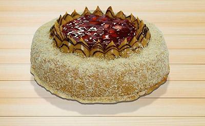 Torta Deleite de Morango
